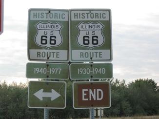 66 IL - 66 signs