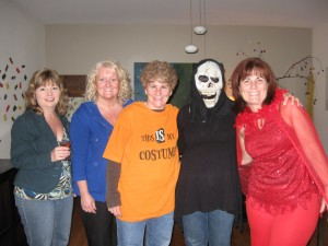 """One local book club replicated the """"Hallowiener Party"""" from Friday Mornings at Nine!"""