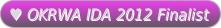 2012 OKRWA IDA Finalist Button
