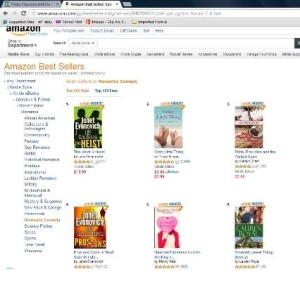 Amazon bestseller in Romantic Comedy #3 -- small