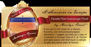 Winner - Austenesque Awards